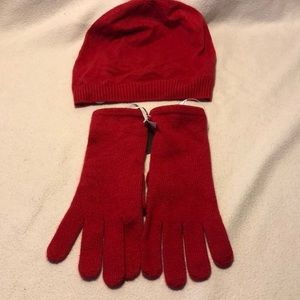 Women's Hat and gloves
